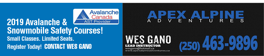Wes Gano Avalanche Safety Course